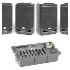 Audio presentatieset XXL 4 speakers