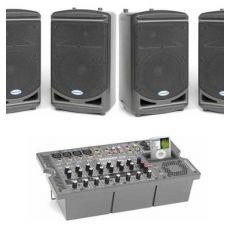 Audio presentatieset XXL 4 speakers