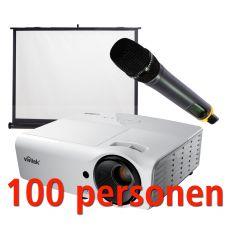 Presentatiepakket 100 pers.