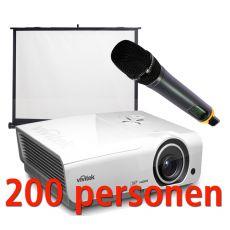 Presentatiepakket 200 pers.