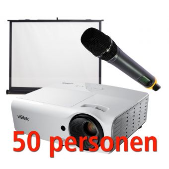 Presentatiepakket 50 pers.