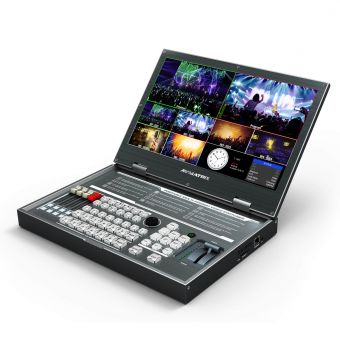 AVmatrix 6 Channel Multi-Format Video Switcher.