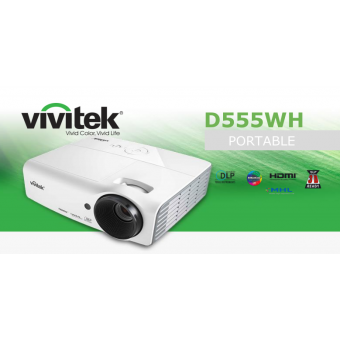 Projector/beamer Vivitek D555WH  DLP 3000 ansilumen